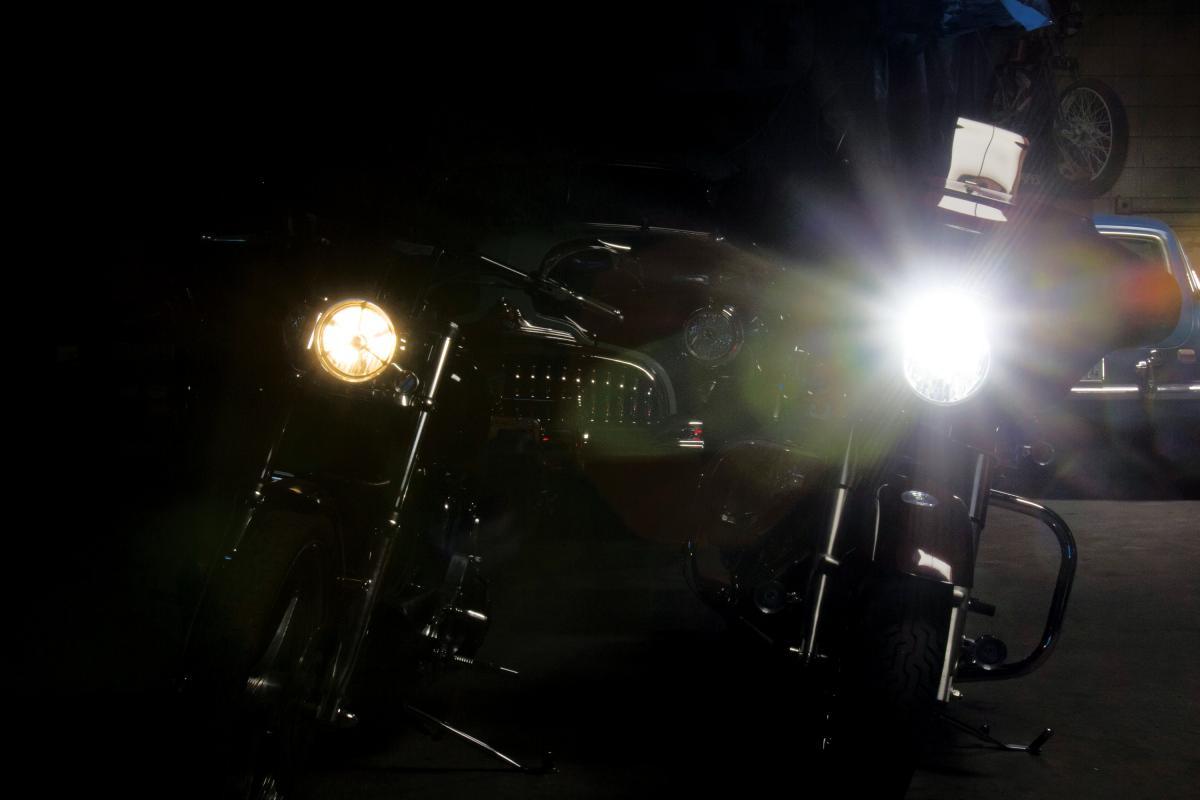 led vs halogen lights south texas biker magazine. Black Bedroom Furniture Sets. Home Design Ideas