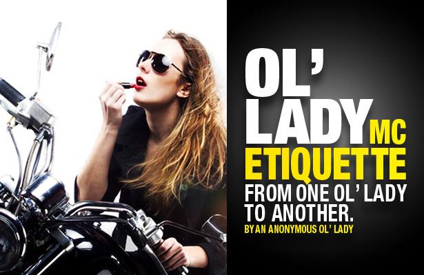 Ol Lady Etiquette 101